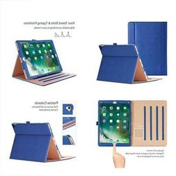 "Apple IPad Pro Case Leather Stand Folio Cover 12.9"" Auto Sle"