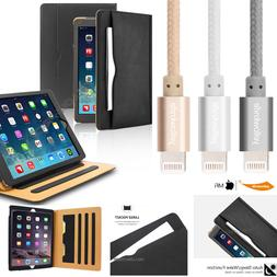 Apple iPad Pro Case, Leather Stand Folio Case Smart Cover Do