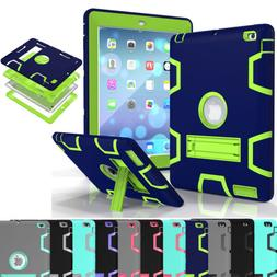 For Apple iPad Tablet Case Shockproof Rugged Hybrid Rubber w