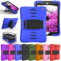 For Apple iPad Tablet Screen Protector Case + Shockproof Hyb