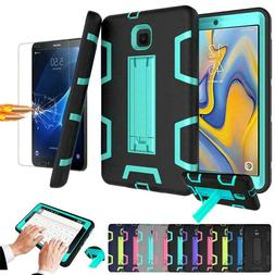 Armor Defender Kickstand Tablet Case For LG Samsung Apple IP