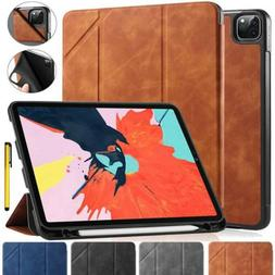 Auto Sleep Wake Smart Flip Stand Case Cover with Pencil Hold