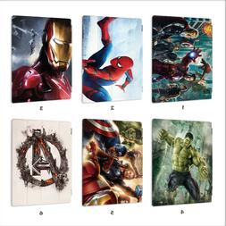 Avengers Hero Leather Smart Case Cover iPad 3 4 5 6 Air mini