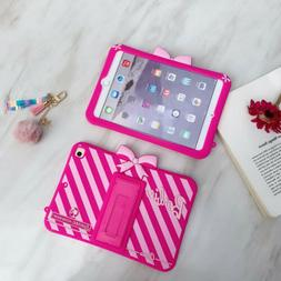 Barbie Cute Stand Pink Cover Case For Apple iPad Mini2/3/4/5