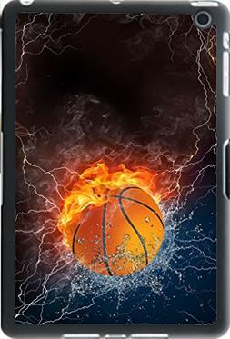 Rikki Knight Basketball Fire and Water Design iPad Mini Smar
