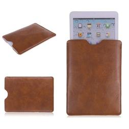 Black/Brown Protect PU Leather Sleeve Bag <font><b>Case</b><
