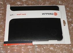 Griffin Black Leather Snap on Shell Case for iPad 1st gen Wi