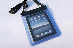 Blue Waterproof Dry Bag Pouch Case Cover FOR PC Tablet Ebook