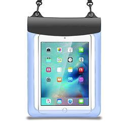 Premium Blue Waterproof Pouch Bag Case for iPad Pro 10.5 / H