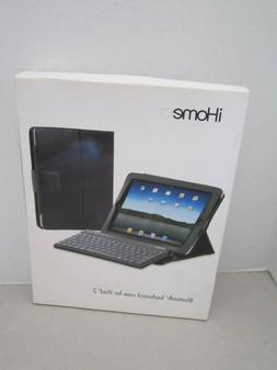 iHome bluetooth keyboard & case ipad 2. Black NEW. Dual USB
