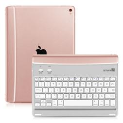 "Bluetooth Keyboard Case Cover For New Apple iPad 5th 9.7"" 20"