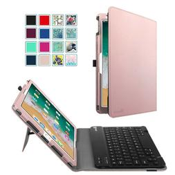 Bluetooth Keyboard Case Folio Stand Cover For iPad 5th Gen 9
