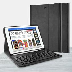 Bluetooth Keyboard with Protective Case Cover For iPad 9.7''