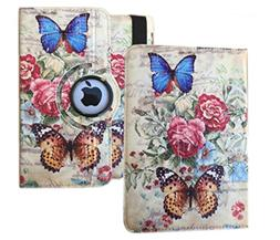 "Butterfly Design Ipad Case For iPad 9.7"" 2018 / 2017 Relea"