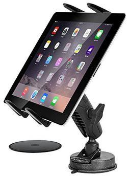 Tablet Car Mount, DigiMo Windshield Holder or Dash Car Table