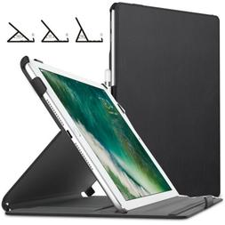 MoKo Case Fit iPad 9.7 5th/6th Generation - Genuine Leather