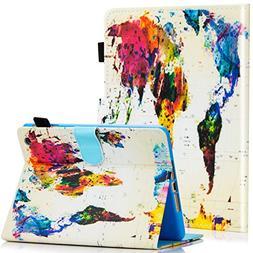 Dteck Case for iPad Mini 3/2/1, Slim Fit Folio Stand PU Leat