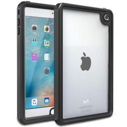 MoKo Case Fit iPad Mini 4, Waterproof Case with Built-in Scr