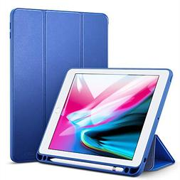 ESR Case for iPad 9.7 2018 with Built-in Apple Pencil Holder