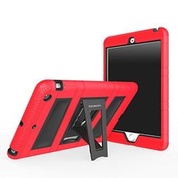 MoKo iPad Mini 3 / 2 / 1 Case, Silicone + Black Hard Polycar