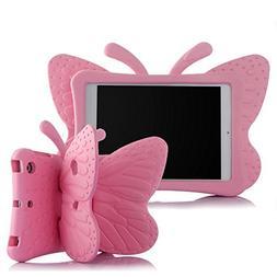 Ipad Mini Case,ER CHEN Kids Light Weight Cute Butterfly Desi