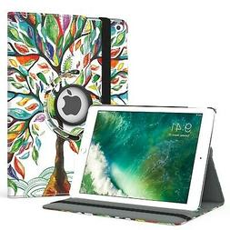 MoKo Case Fit iPad 9.7 5th/6th Generation - 360 Degree Rotat
