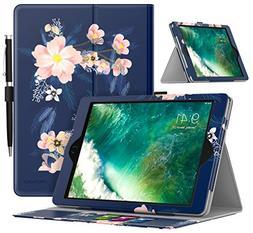 MoKo Case for iPad 9.7 2018/2017 - Premium Light Weight Shoc