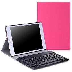 MoKo Case for Apple iPad Mini 4 - Wireless Keyboard Cover Ca
