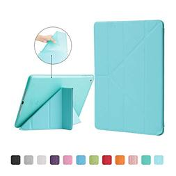 Case Cover for Ipad 9.7 2017 PU Leather Magentic Smart Cover