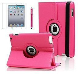 AiSMei Case for iPad 4 2012, iPad 3 2012, iPad 2 2011, Rotat