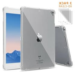 """Case For iPad 5th/6th Generation/New iPad 9.7"""",Soft Clear TP"""