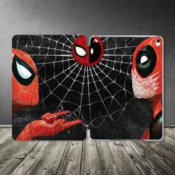 Case For iPad Air Mini Pro 12.9 11 10.5 9.7 10.2 Marvel Spid
