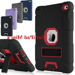 BENTOBEN Case For iPad Mini 4 3IN1 Shockproof Soft&Hard Hybr