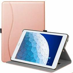 Ztotop Case for iPad Premium Leather Business Slim Folding S
