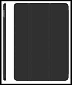 JETech Case for iPad Pro 12.9  Smart Cover Auto Sleep Wake B
