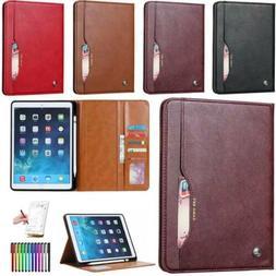 "Case iPad 7.9"" 9.7"" 10.5"" Soft PU Leather Smart Cover Sleep"