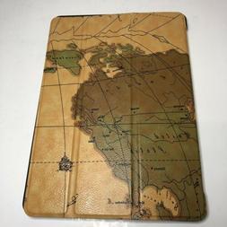 MoKo Case iPad Pro 9.7 Slim Fit Folio Cover Map Design