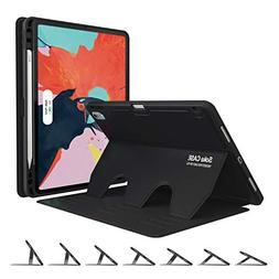 Soke Case,iPad Pro Case 11 inch 2018 with Pencil Holder  - A