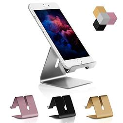 Cell Phone Stand, Solid Portable Aluminum Desktop Mobile Pho