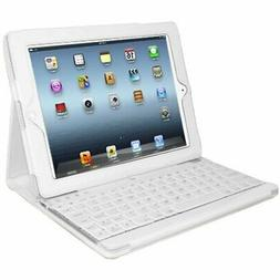 Adesso Compagno 3 Keyboard/Cover Case for iPad - Faux Leathe