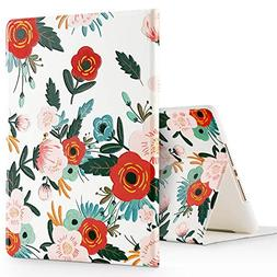 GVIEWIN Compatible for iPad 9.7 Case 2017/2018, Slim Fit Poe