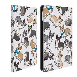 Head Case Designs Corgi Dog Breed Patterns Leather Book Wall