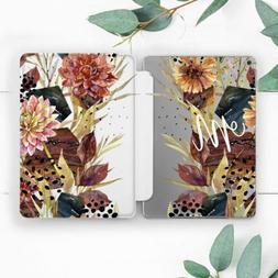 Custom Vintage Flowers Smart Case For iPad Pro 12.9 11 10.5