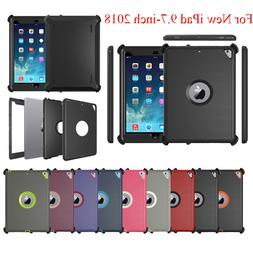 For iPad 9.7 2018  Defender Case(Shield Stand Fits for Otter