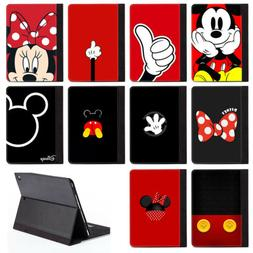 Disney Cartoon Mickey Mouse PU Leather Stand Case Cover For
