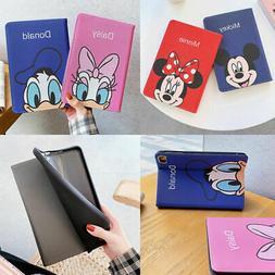 Disney Cartoon Smart Magnetic Cover Case For Apple iPad Mini
