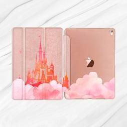 Disney Castle Sky Rose Gold Smart Cover Case For iPad Pro 9.
