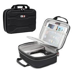 BUBM Electronic Organizer, Hard Shell Travel Gadget Case wit