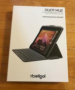 Empty LOGITECH Slim Folio iPad 5th 6th Generation Case Keybo