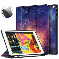 Fintie SlimShell Case for iPad 10.2 Inch 2019 with Built-in